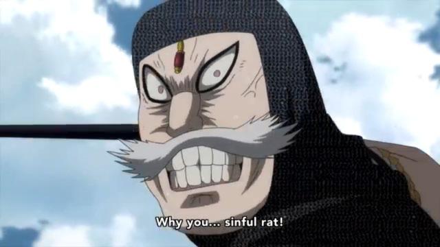 Cripes, go back to One Piece!