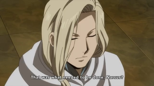 Hush little Arslan don't be a man / Narsus gonna make you an awesome plan