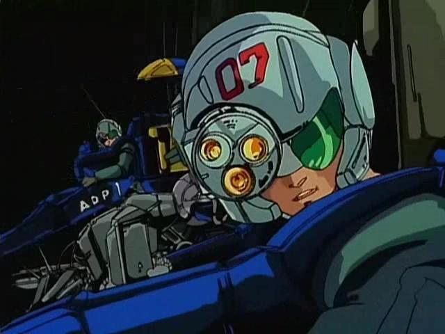 I'm a big fan of bulky cyberpunk tech