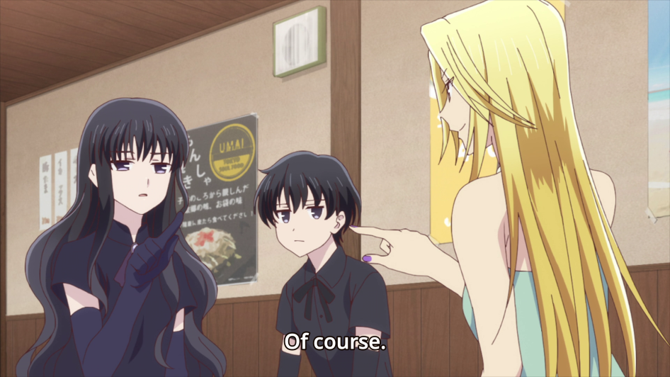 Your girls have got your back, Tohru!
